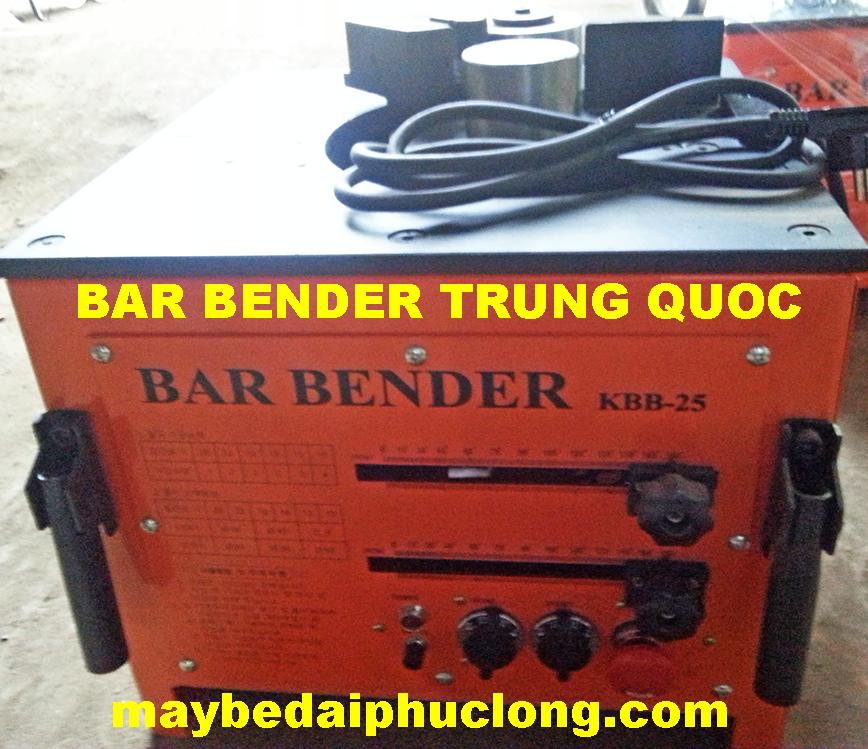 Máy uốn sắt Bar Bender Trung Quốc